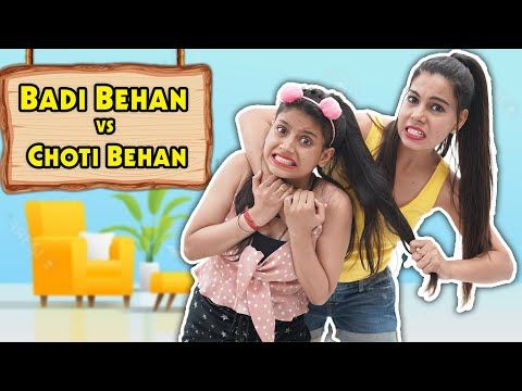 #1-on-trending-badi-behan-vs-choti-behan-|-sanjhalika-vlog